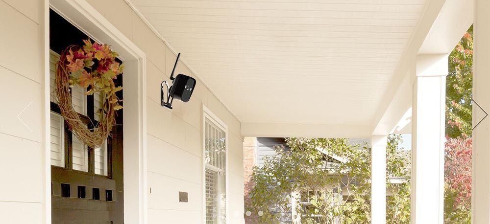 Zmodo 720P 4CH Smart Home Wireless Security Camera System Night ...