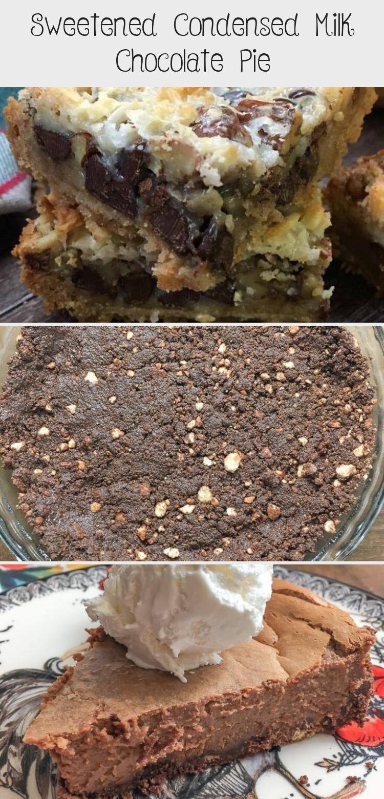 Sweetened Condensed Milk Chocolate Pie Recipes In 2020 Winter Dessert Recipes Chocolate Pie Recipes Milk Chocolate Pie Recipe