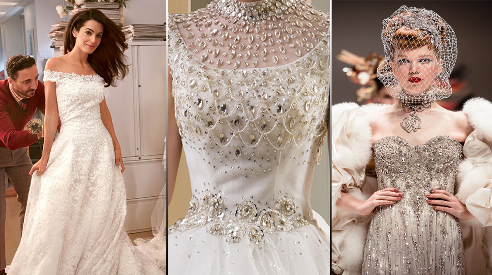 10 Of The Most Expensive Wedding Gowns In History