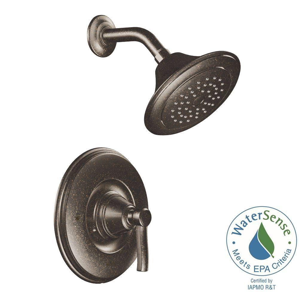 Moen Rothbury Posi Temp Single Handle 1 Spray Shower Faucet Trim
