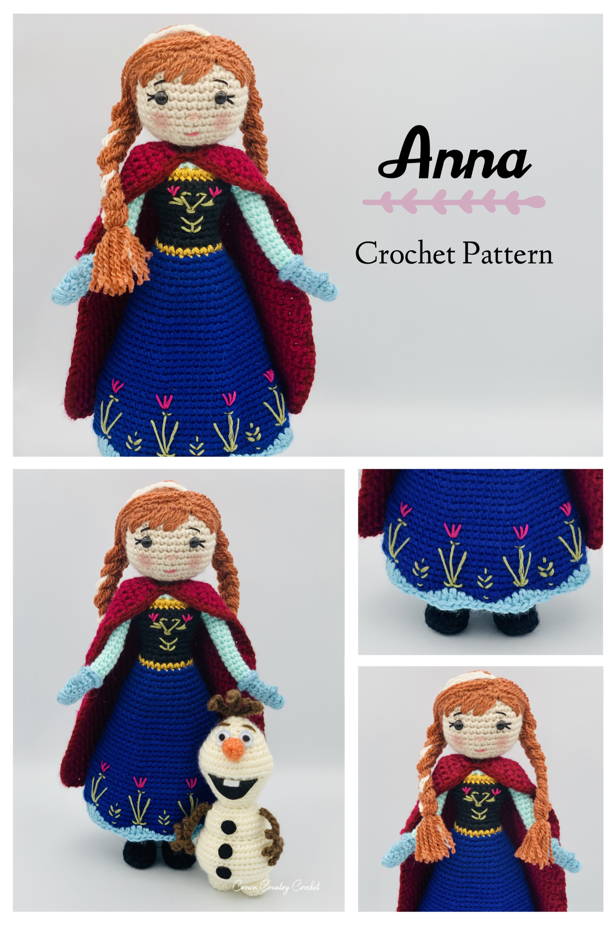 Amigurumi Pattern Snowman Olaf Frozen Amigurumi Crochet – Step By ... | 1800x1200