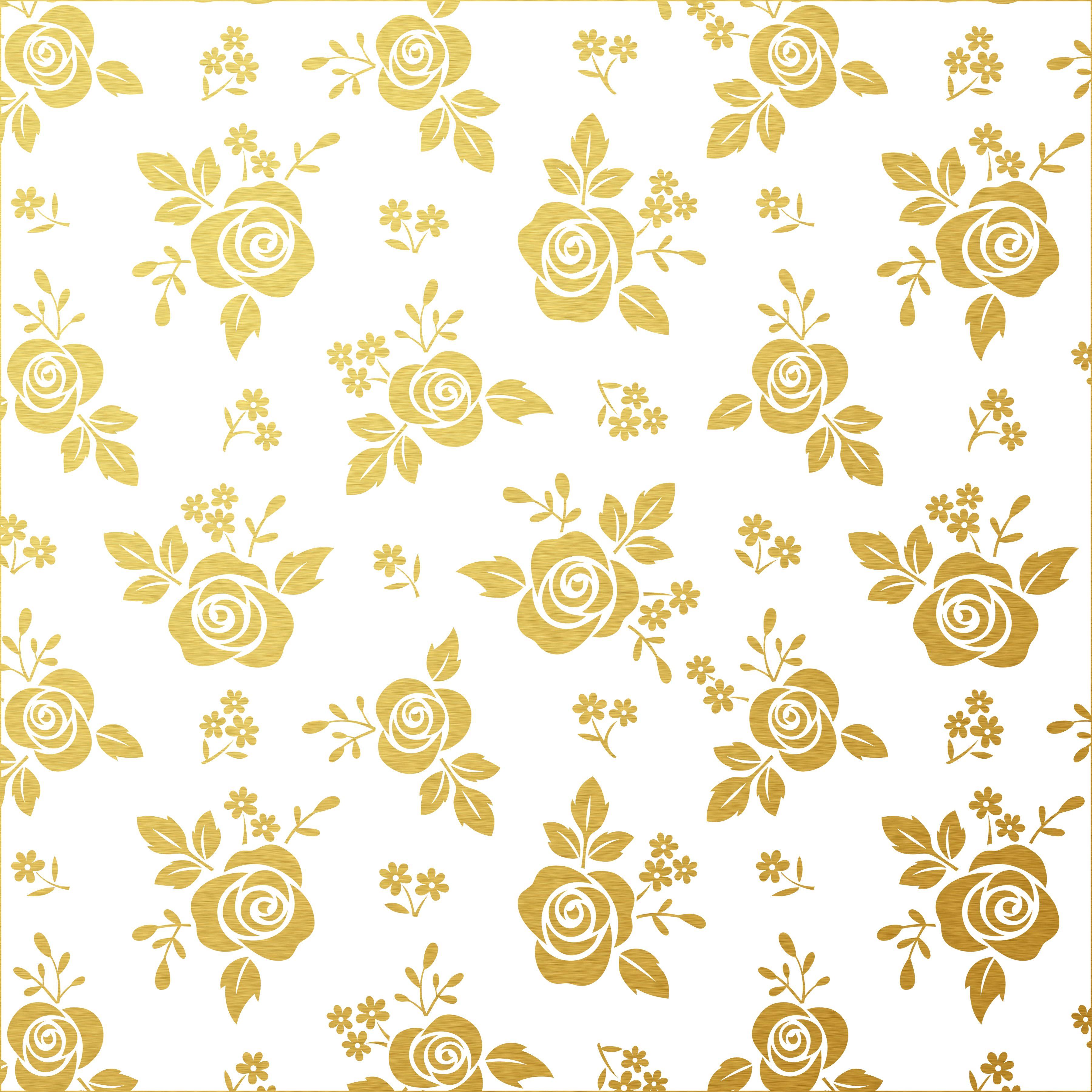 Scrapbook ideas black background - Scrapbook Paper Black White Goldleaf Digital Rose Paper