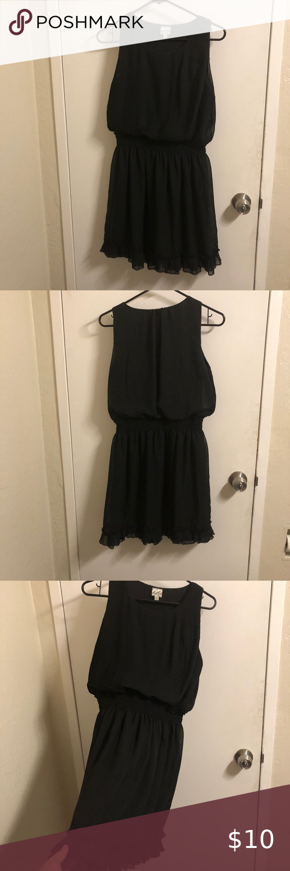 Kids Dress Ruffled Black Dress Vertical Ruffling Top And Bottom With Elastic Break Band And More Ruffles At The Bottom D Kids Dress Black Ruffle Dress Dresses [ 1740 x 580 Pixel ]