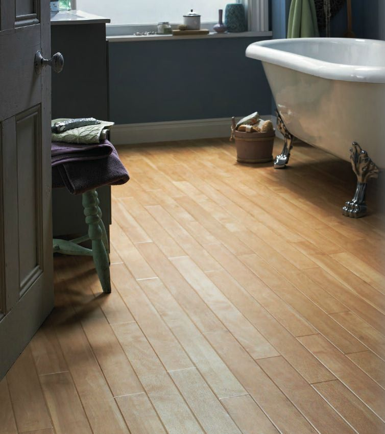Small Bathroom Flooring Ideas  Plank Table Flooring Ideas And Best Small Bathroom Flooring Design Ideas