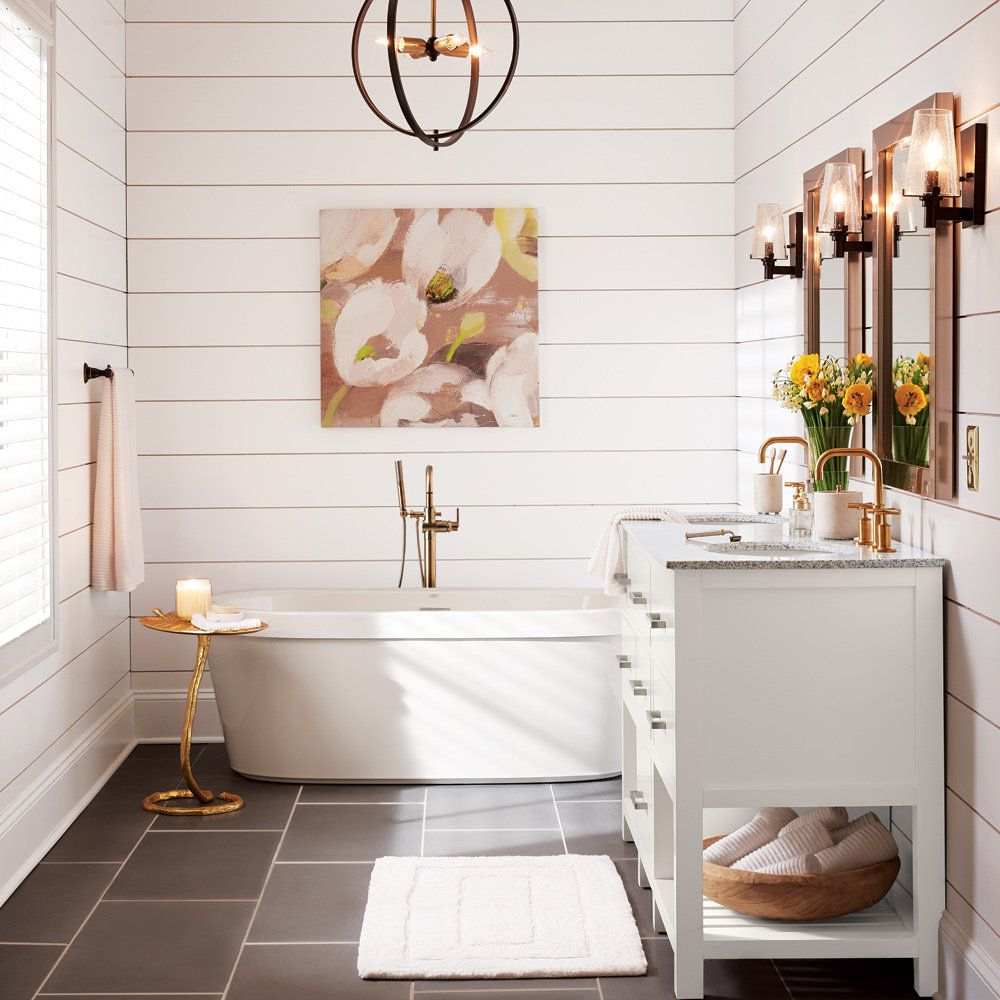 Modern Farmhouse Bathroom Farmhouse bathroom accessories