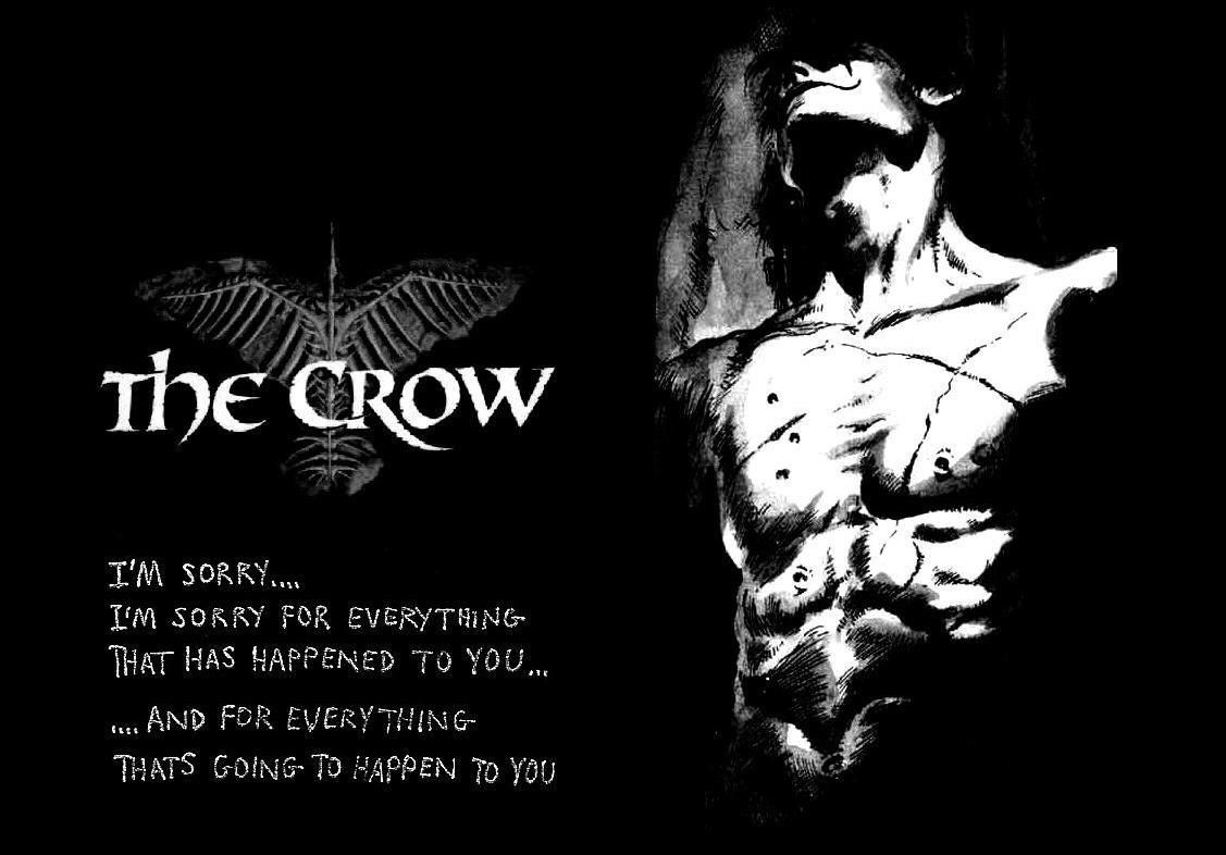 The Crow Quote With Images Crow Movie Crow Crow Images
