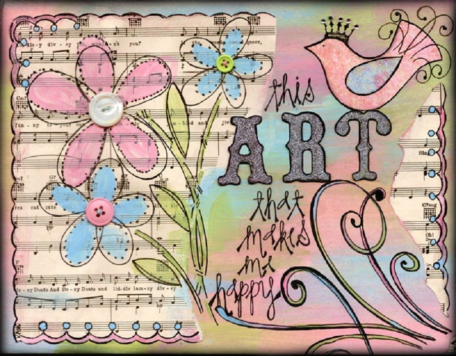 Vicki Chrisman's Blog...featuring art that makes her happy in websites, scrapbooks and vintage paper crafts