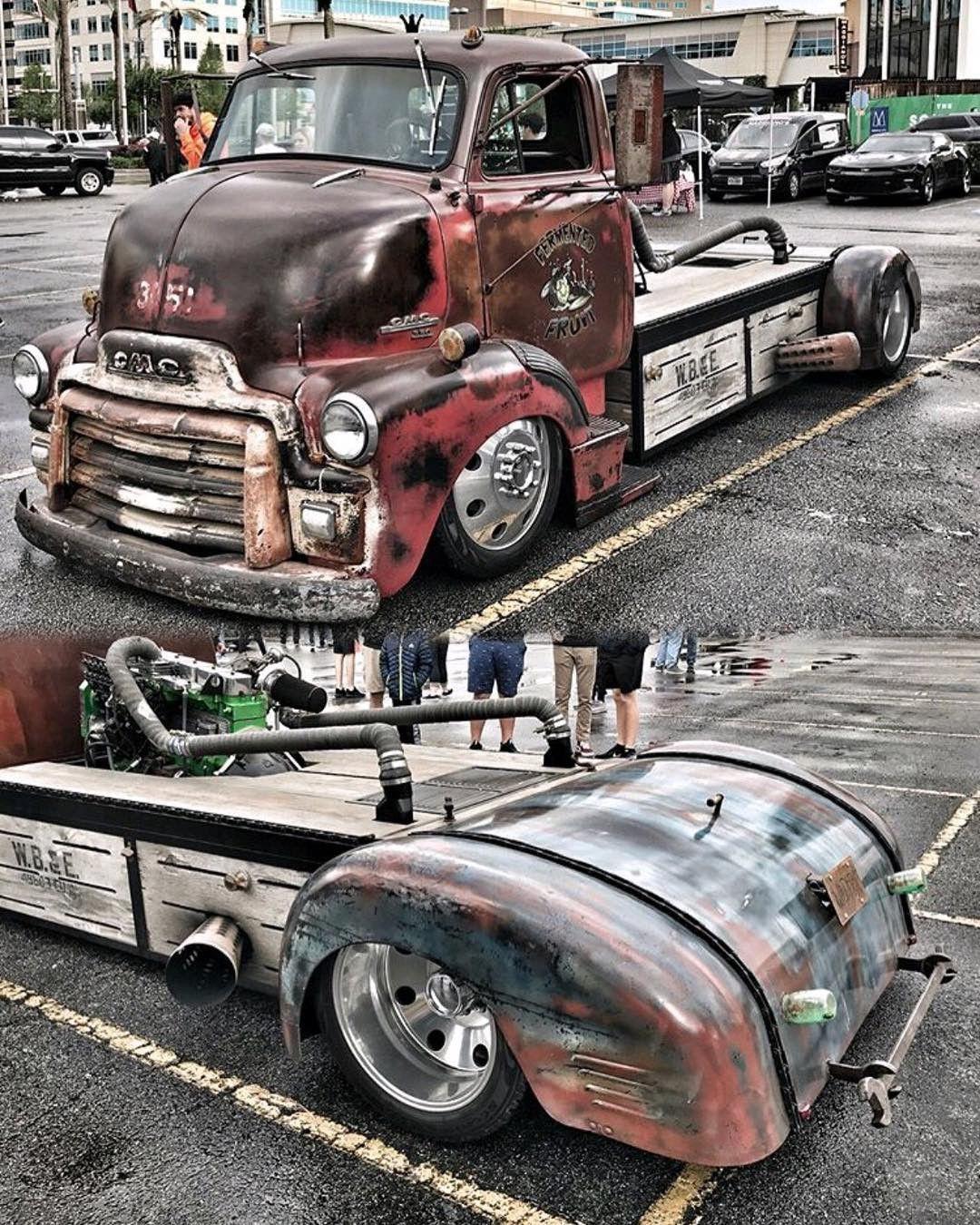 Rear bumper | 47 Dodge Ideas | Rat rod cars, Diesel rat rod