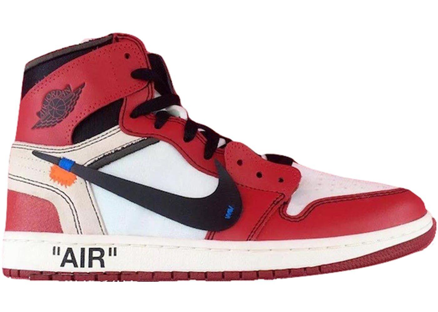 on sale 108ad d879f Jordan 1 Retro High Off-White Chicago   Top sneaker Picks ...