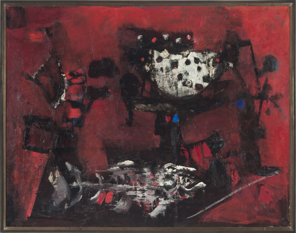 Antoni Clave Art | Works by Antonio Clave and Massimo Campigli Go to Auction in Los ...
