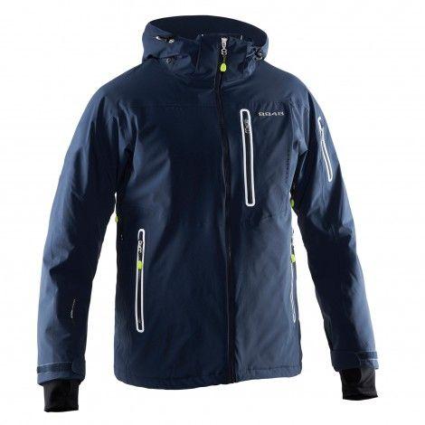 De Helmer #winterjas voor heren is een super functionele ski- en #snowboardjas van 8848 Altitude.
