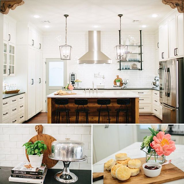 Loved the McKenzie family tonight and their kitchen and shiplap island! Thks @rubyandlucyframes for letting us do your renovation for your family! For more details on tonight's episode Chk out the blog. Link in profile : @rachel_whyte