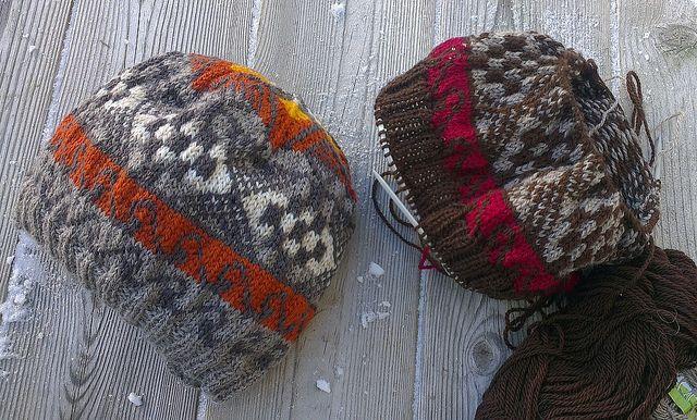 Judith sin strikkeblogg: Et pågående lueprosjekt