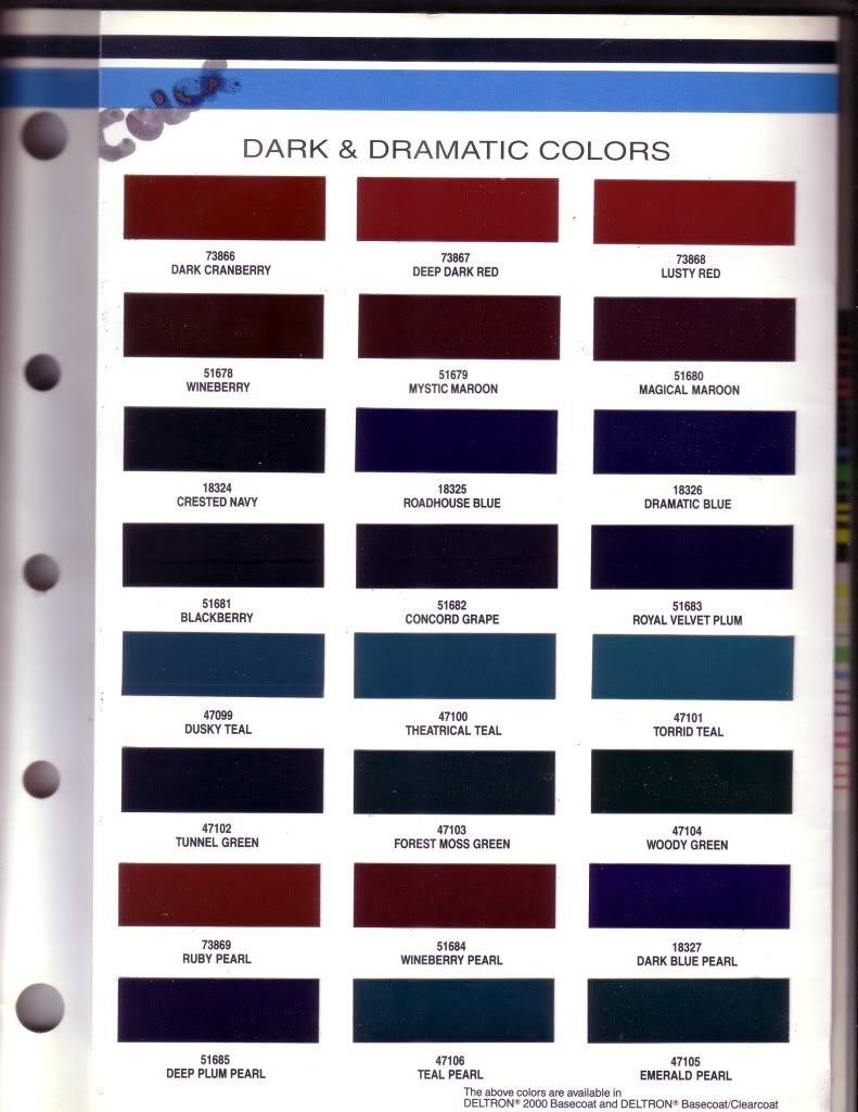 gelcoat color charts google search color charts spectrum boats colour chart  [ 791 x 1024 Pixel ]