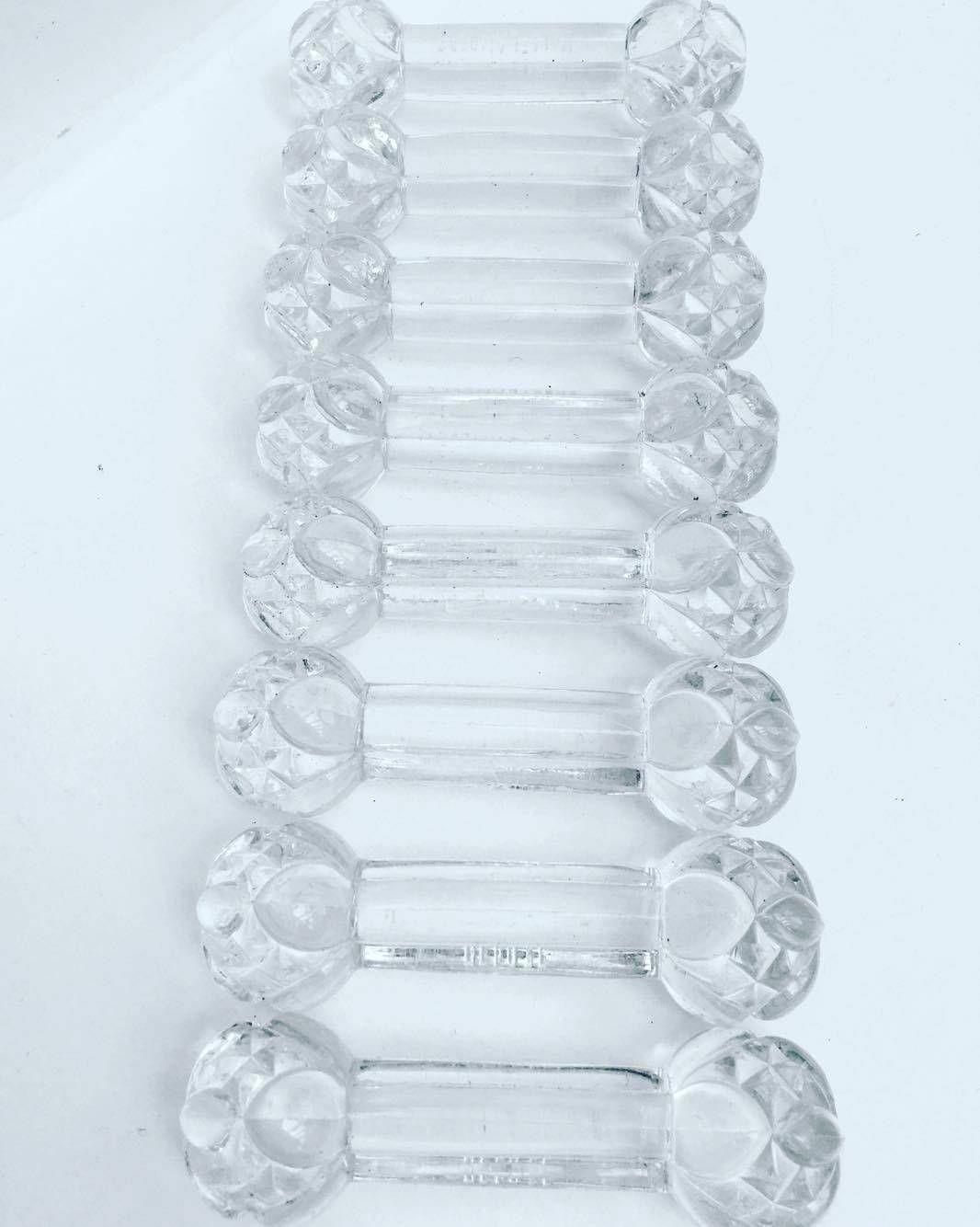Pose couteaux en cristal Art Déco, porte couteau VAL SAINT LAMBERT Beau porte-couteau Art Déco de Val St Lambert, demi-cristal. de la boutique VintagechicBruxelles sur Etsy