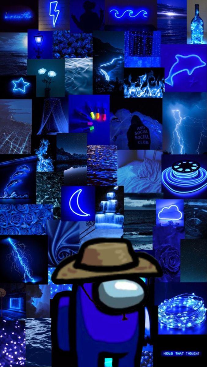 Among Us Blue Wallpaper Iphone Iphone Background Wallpaper Cute Patterns Wallpaper
