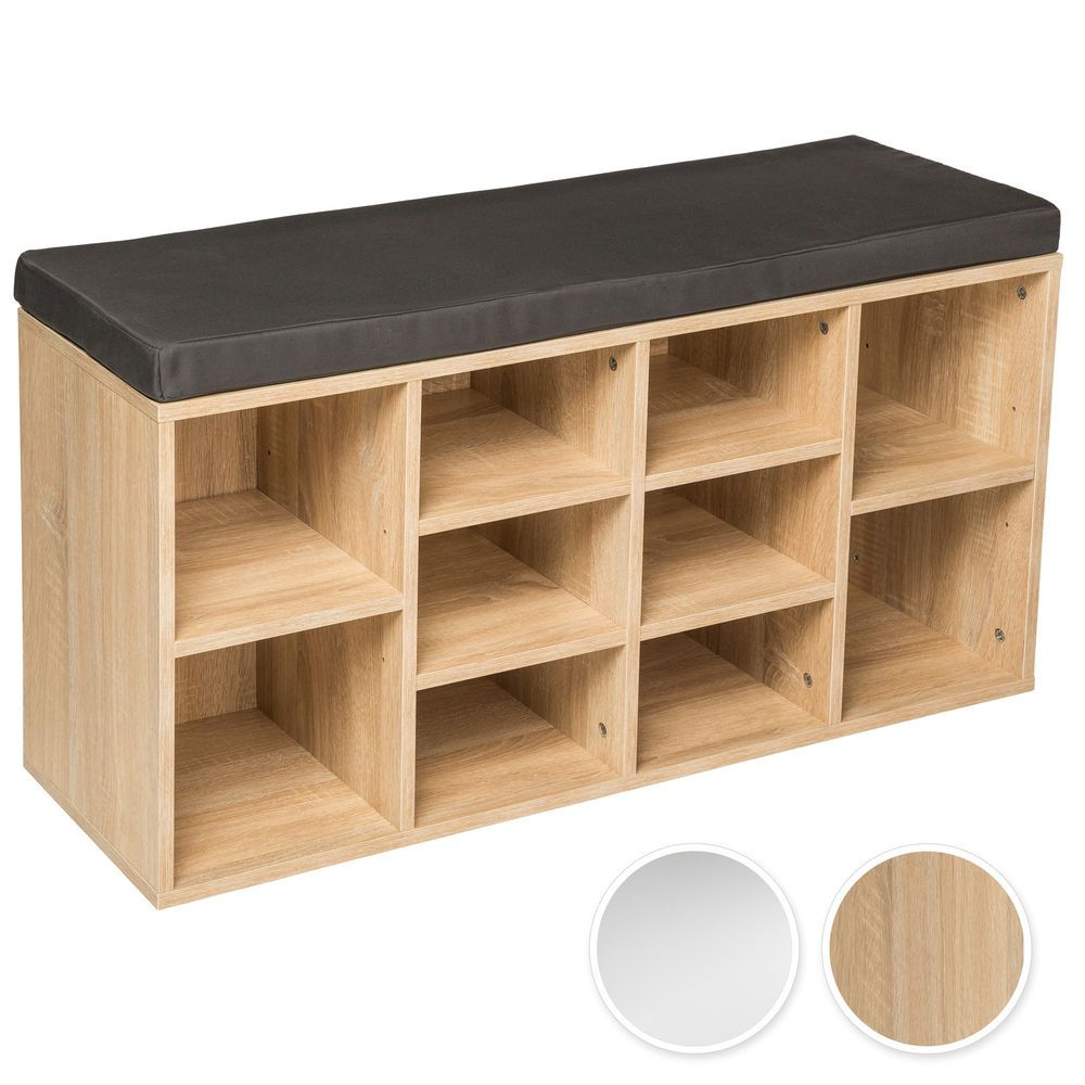 Details About Shoe Rack Storage Stand With Seat Wooden Bench Shelf