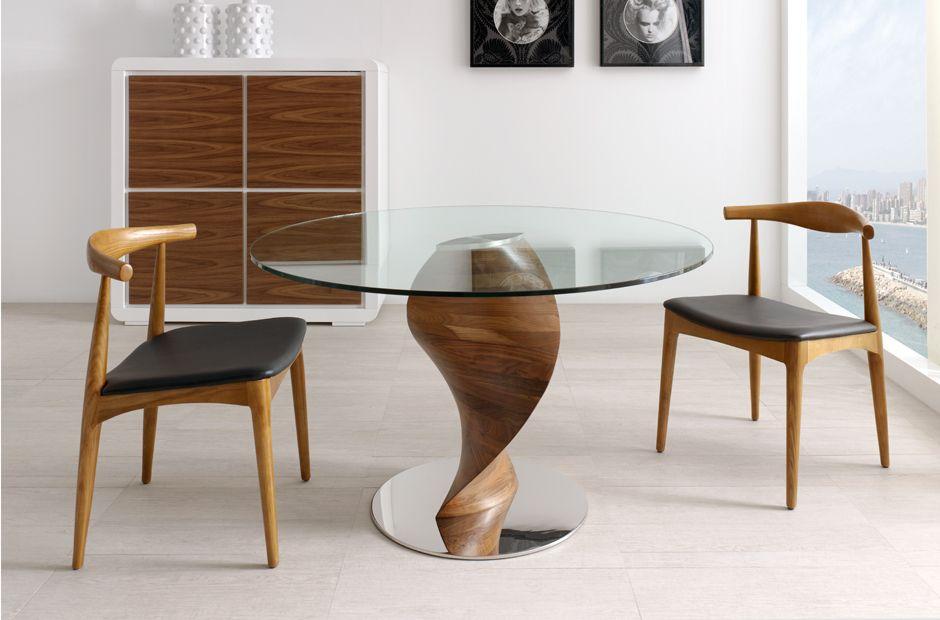 mesas de madera modernas para comedor buscar con google