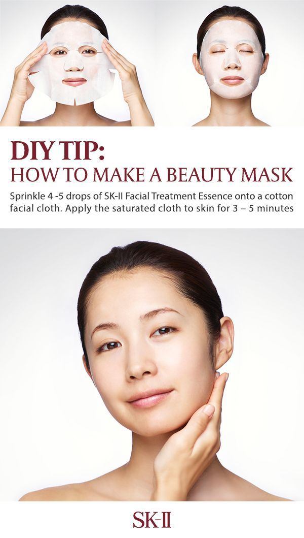 Try This DIY Trick For The Perfect At Home Face Mask. All You Need Is SK II  Facial Treatment Essence For The Beauty Hack! | Skin Care Tips | Pinterest  ...