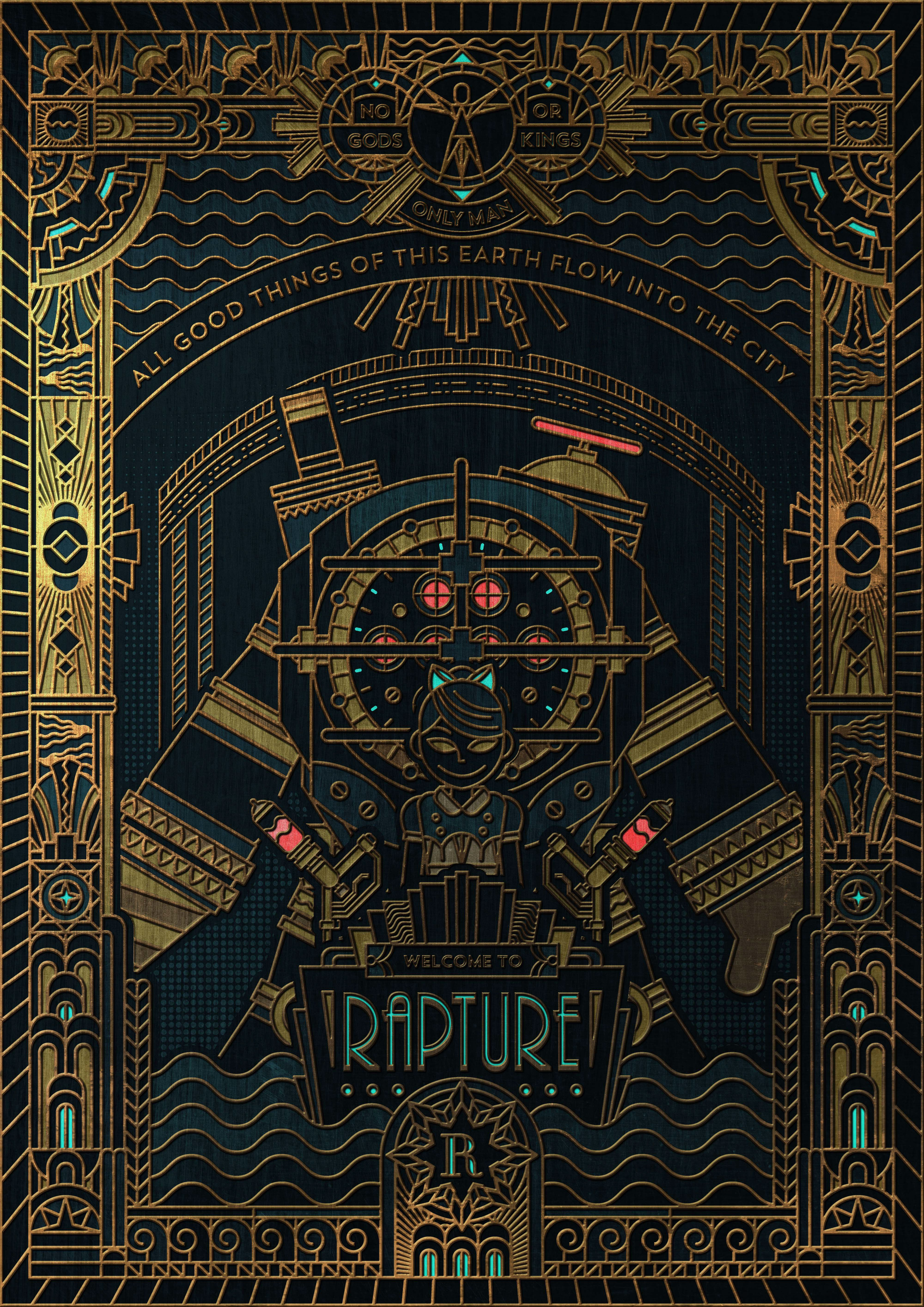Check Out This Behance Project Bioshock Rapture Https Www Behance Net Gallery 31573627 Bioshock Rapture Bioshock Art Bioshock Rapture Bioshock