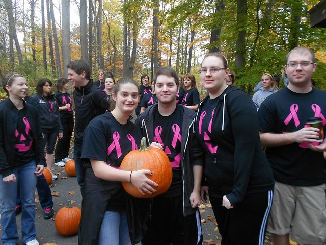 Cecil College Pumpkin Face Relay Race by Cecil College, via Flickr