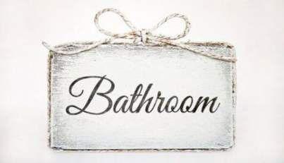 Bathroom Door Ideas Signs Quotes 45 New Ideas Quotes Bathroom Door Bathroom Door Sign Bathroom Doors Door Signs Diy