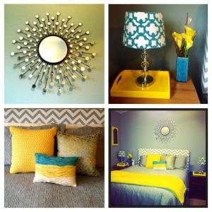 The Yellow Brick Blog Bedroom Turquoise Home Decor Bedroom Makeover
