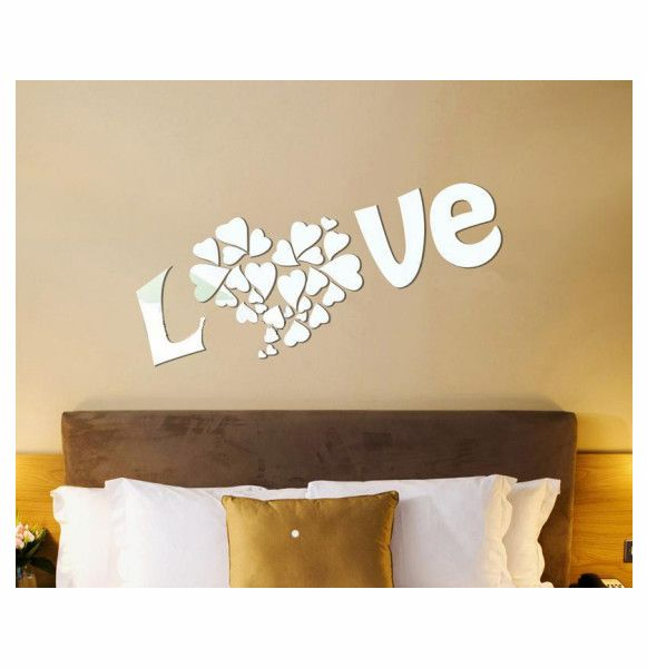 New acrylic wall stickers makeup mirror stickers muraux multiple colour home decoration clear mirror purple brown