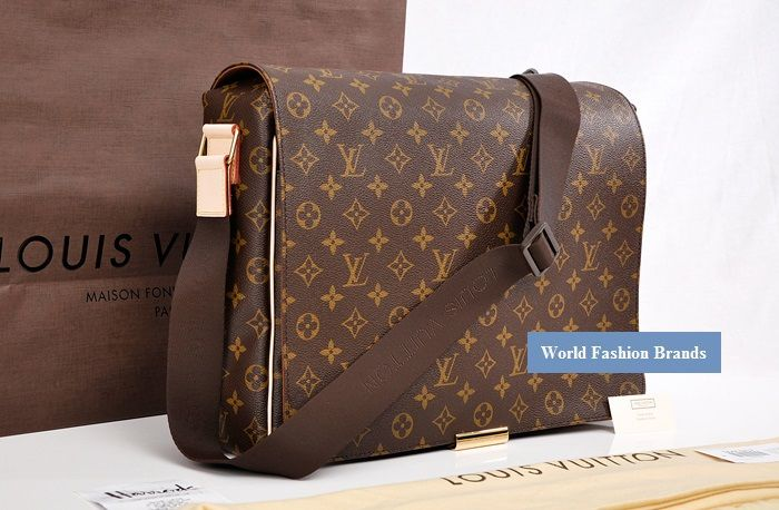 48afd49a64 Replica perfetta borsa Louis Vuitton uomo Abesses in soffice canvas.Borse Lv  pari originale,