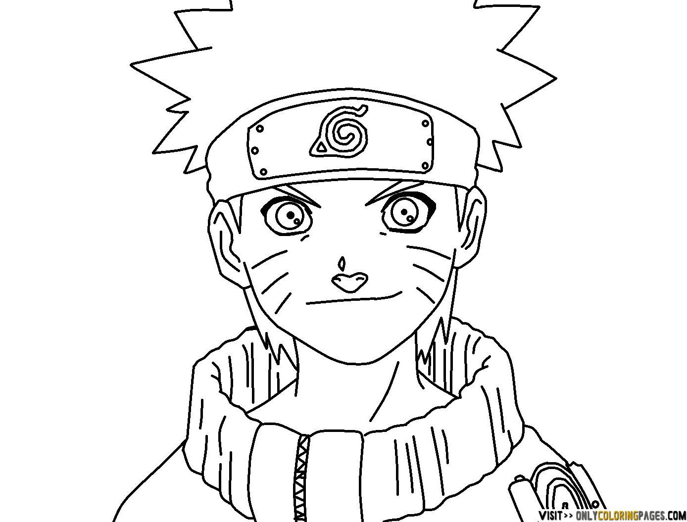 naruto coloring pages, printable naruto coloring pages, free naruto ...