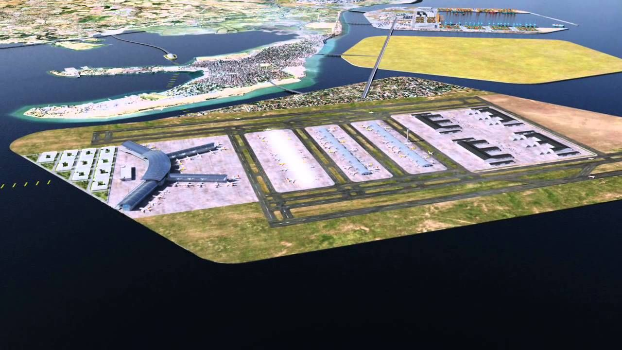 Or is this proposal at Sangley Point going to be the new Manila