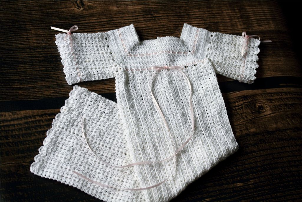 christening gown | A stitch in time crochet and knitting | Pinterest