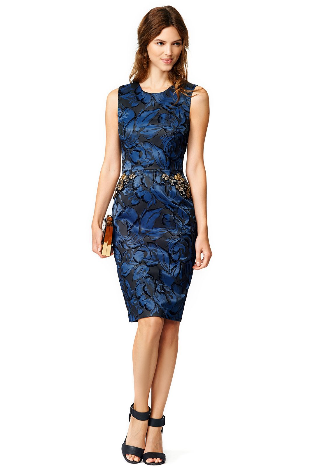 Rent Beaded Blossoms Dress by Vera Wang for 65 only at