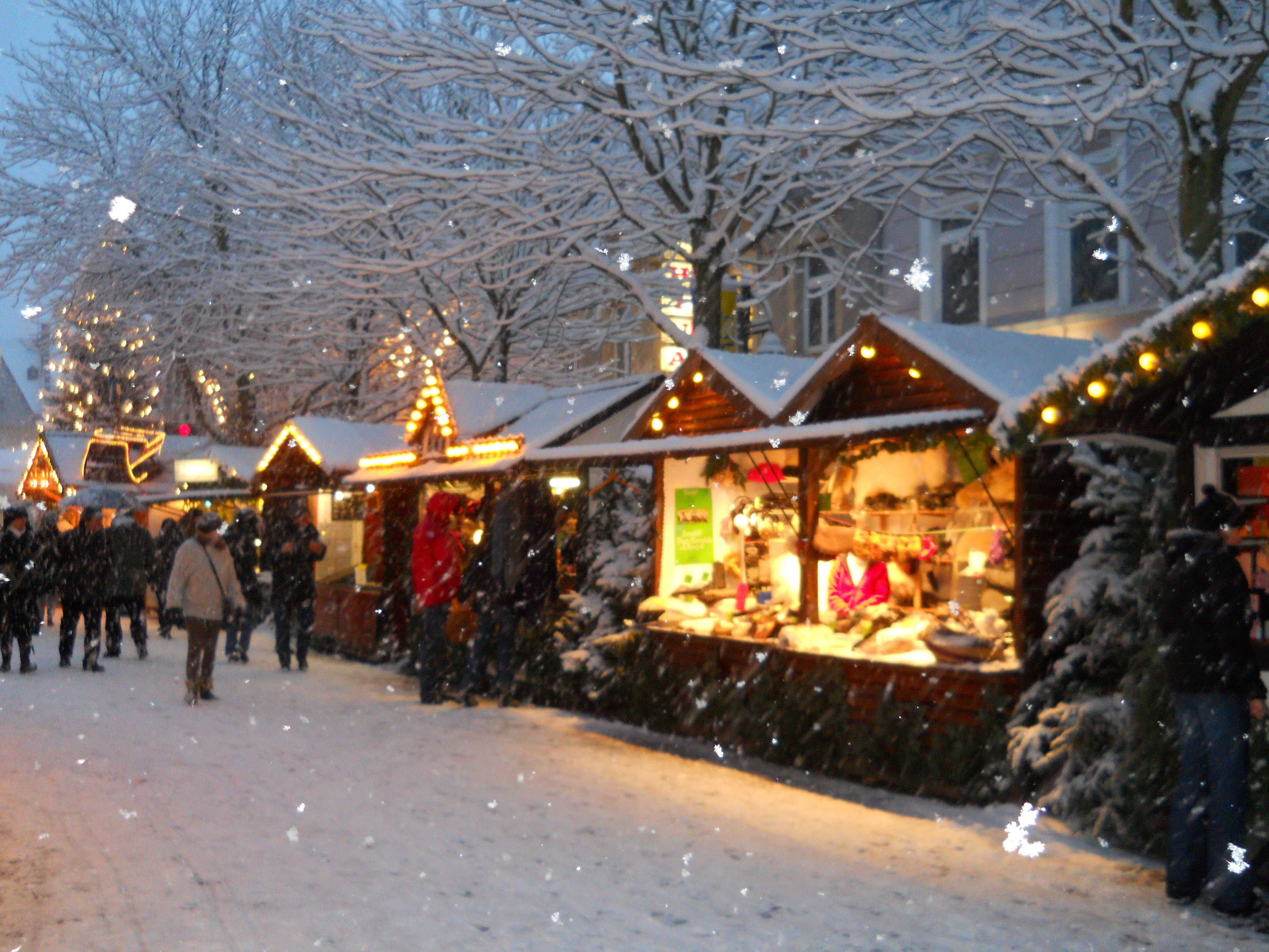 Christmas Market in Bruel, Germany --- Wishing so badly I could go back to germany again