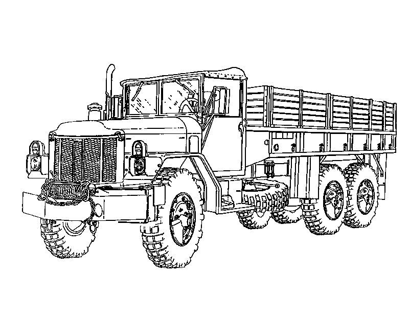 Army Truck Coloring Pages For Boys See The Category To Find More