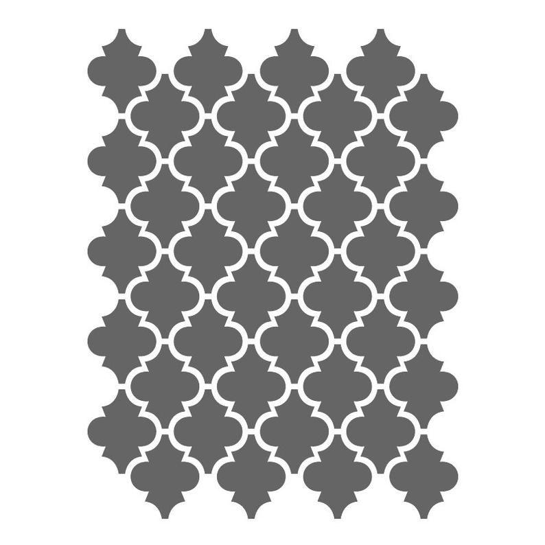 Marokkanische Schablonen Vorlage Fur Crafting Leinwand Diy Etsy Marokkanische Schablonen Schablone Fur Wand Mobelschablone