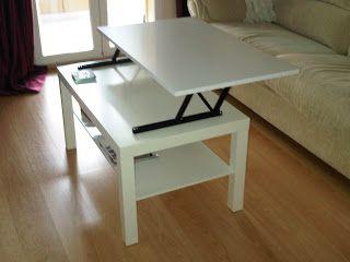 Ikea hack: convertir la mesa lack en mesa elevable | Mesas