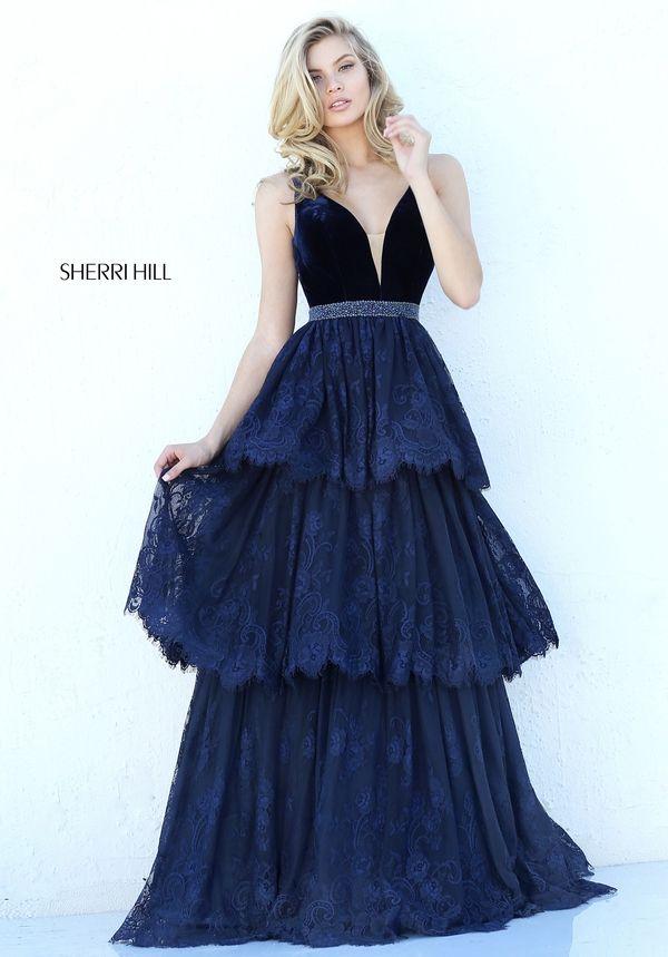 9c2dd5992f Sherri Hill 50771 Vestidos Largos Elegantes
