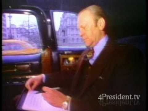 Gerald Ford 1976 Tv Ad Peace Tv Ads Tv Talk Show