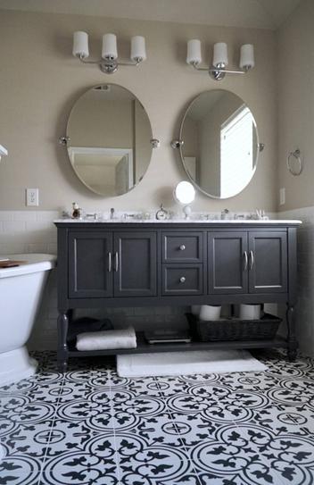 merola tile arte white encaustic 9 3 4