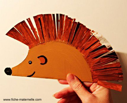 Family Fun Night Paper Plate Hedgehog Monday May 18 From 7 8 Pm