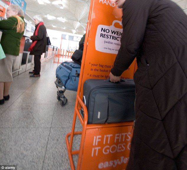 Easyjet Anyone Travelling After July 2 With A Cabin Bag Ger Than The Upper Limit Of 56x45x25 Will Have To Pay 25 Put Their In At Check