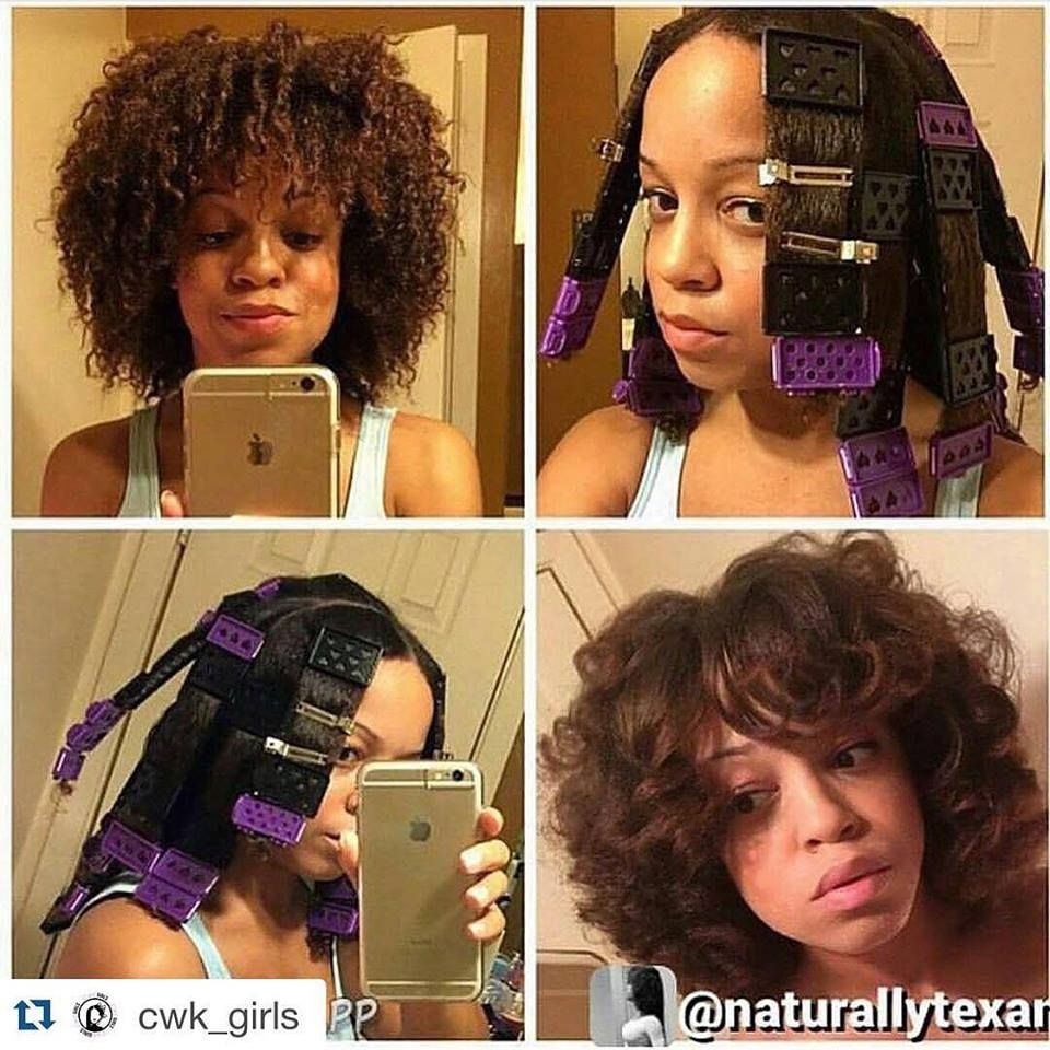 """naturalhairhow101: """" Have you tried the CWK Plates by @cwk_girls? You can use these plates to stretch your hair without heat or sit under a hooded dryer! http://www.cwkgirls.com/ """" WHAT"""