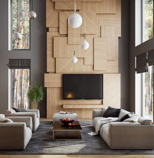 22 Inspirational Ideas Of Small Living Room Design: 50 Inspirational TV Wall Ideas In 2019