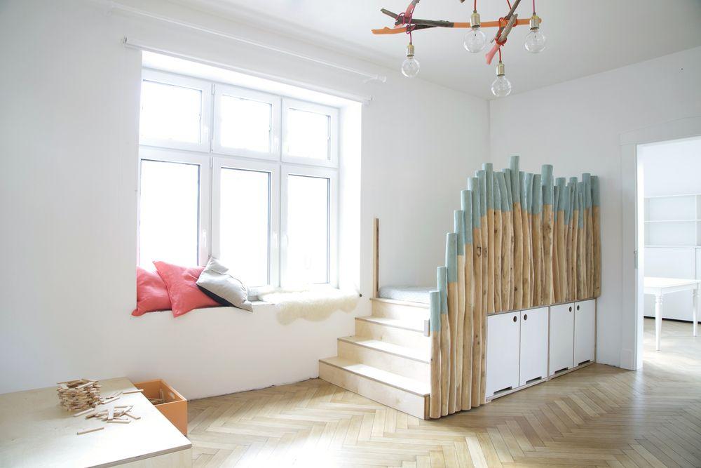 Spielen und schlafen in den d nen interior kita for Hamburger kinderzimmer