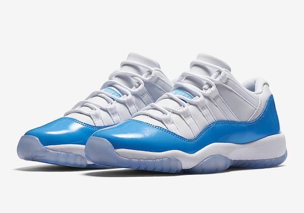 huge sale ce23b a545b Air Jordan 11 Low University Blue. Air Jordan 11 Low University Blue  Chaussures Été, Basket Femme ...
