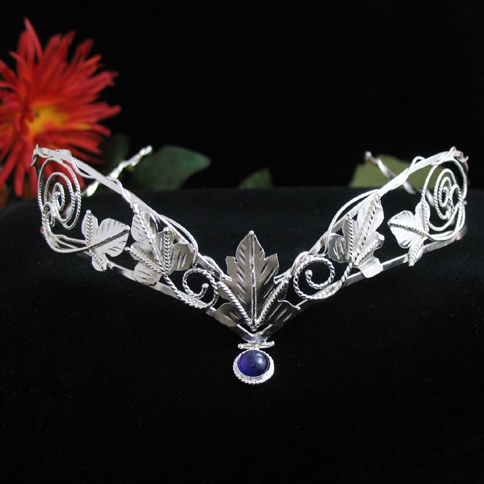 Lord of the Rings Inspired Headpieces Ivy Leaves Circlet Leaf