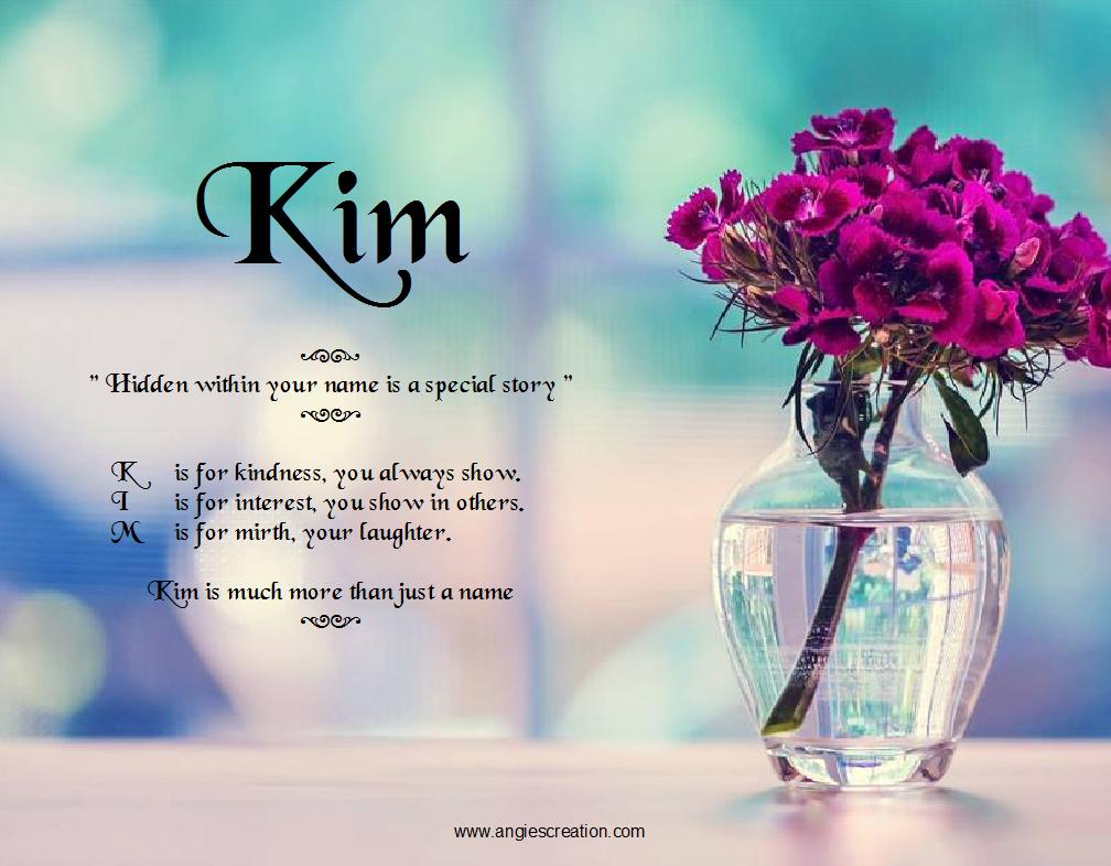 Kim - Angies Creation Hidden Story