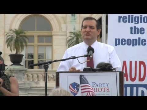 """Audit the IRS"" Rally - Sen. Ted Cruz"