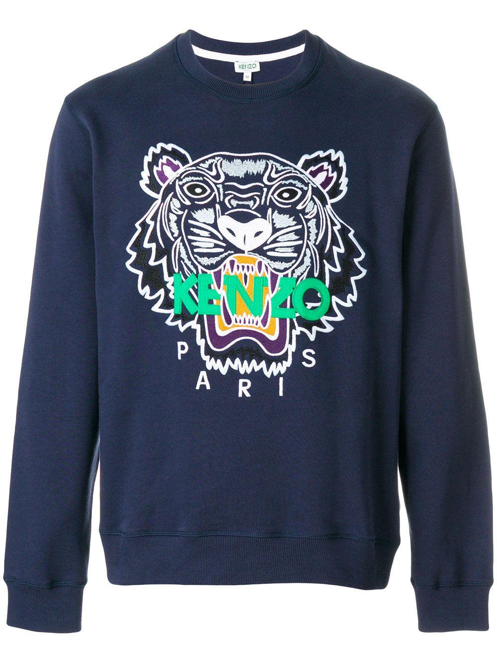 12defcdebd9f  kenzo  tiger  sweater  logo  blue  sweatshirt  men  style  fashion  www.jofre.eu
